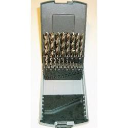 HSS-porasarja 1 – 10mm /0,5mm 19-os