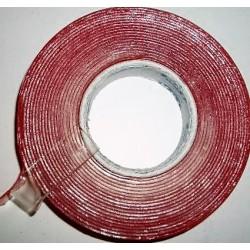 2 – puoliteippi  akryyli 12mm x 4m kirkas